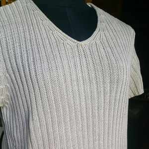 Vintage J crew mercerized Cotton Sweater size M